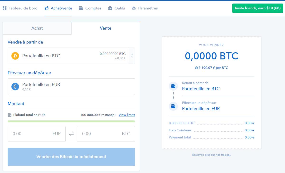 deposito bitcoin da gdax a bena)